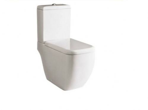 RAK Metropolitan Close Coupled Toilet WC & Soft Close Toilet Seat Version 2